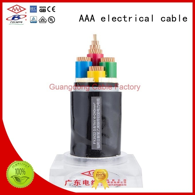 high chemical resistance xlpe insulated power cable heat resistant good flexibility