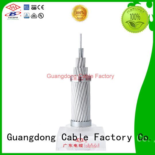 AAA aluminium conductor steel reinforced custom manufacturer