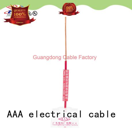 AAA flexible pvc cable easy installation bulk supply