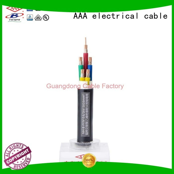 AAA fire resistant power cable