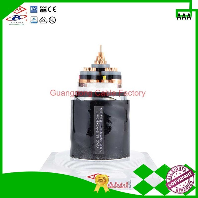 AAA xlpe power cable high-quality easy installation