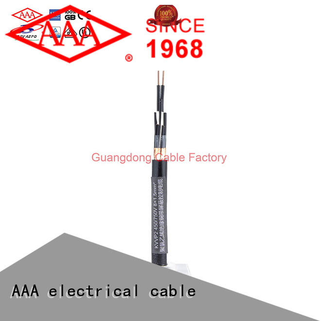 AAA pvc control cable custom for transmission
