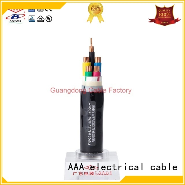 AAA high chemical resistance industrial power cable heat resistant anti-oil
