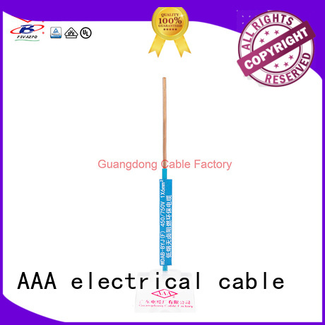 AAA electric building wire easy installation for hospital