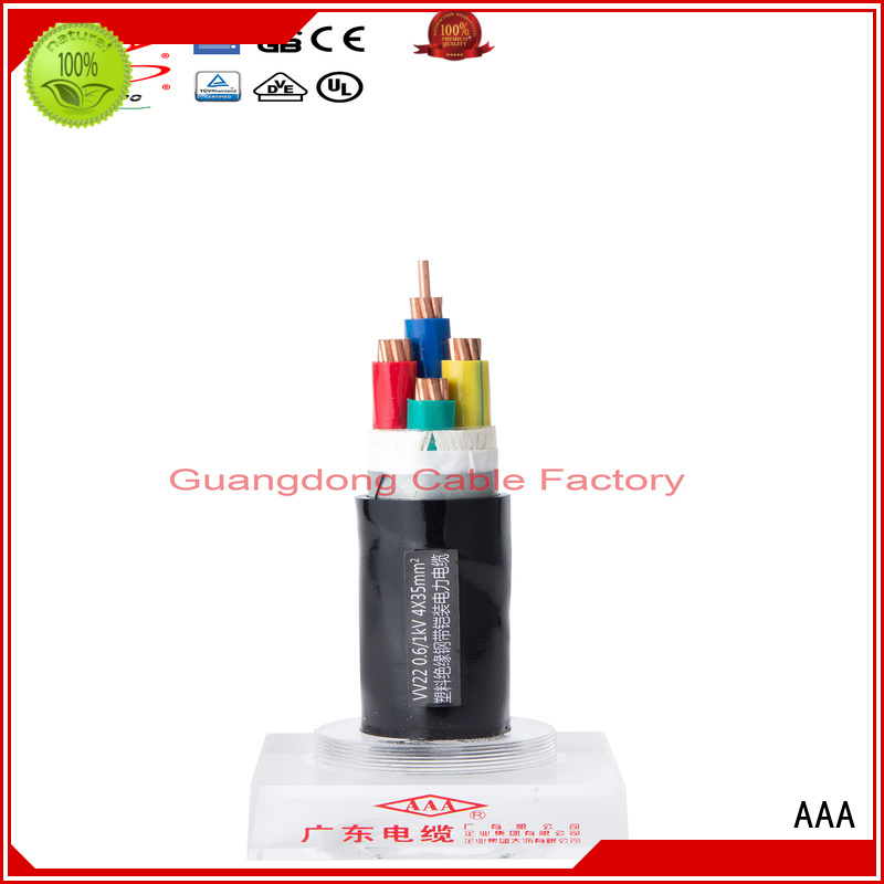AAA pvc electrical cable indoor manufacturer