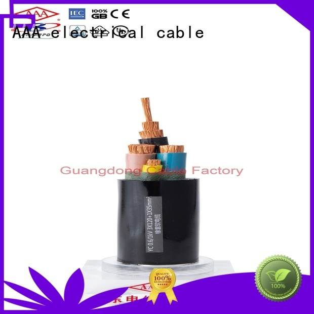 strong mechanical rubber flexible cable rural aging resistance