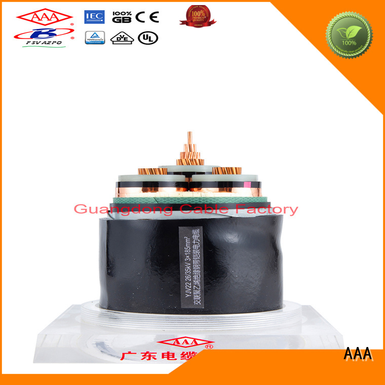AAA electric power cable high-quality for wholesale