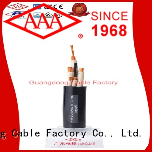 strong mechanical rubber flexible cable urban aging resistance