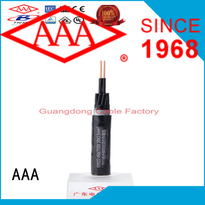 AAA top quality pvc control cable custom