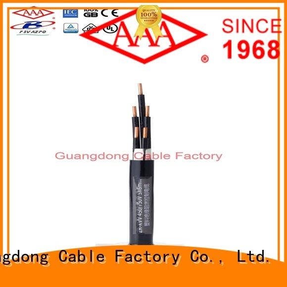 AAA high performance fire retardant cable custom best price