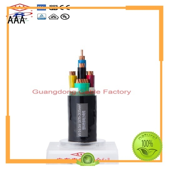 AAA pvc power cable professional manufacturer