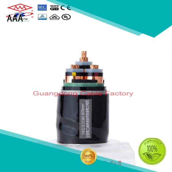 AAA xlpe power cable high-performance easy installation