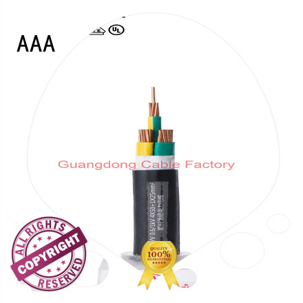 AAA high-quality pvc sheathed cable outdoor factory