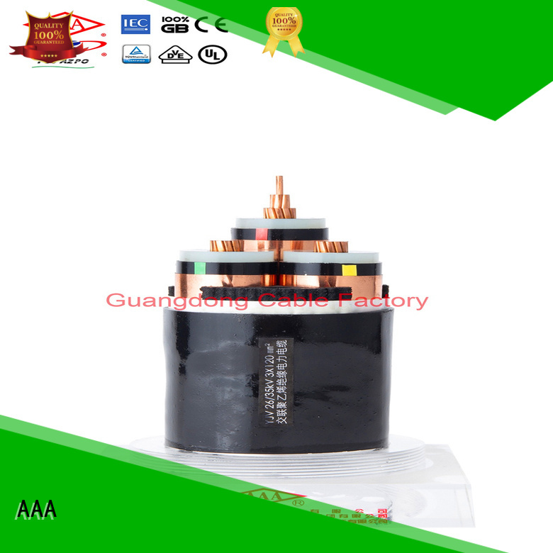 AAA factory direct supply xlpe power cable high-quality for wholesale