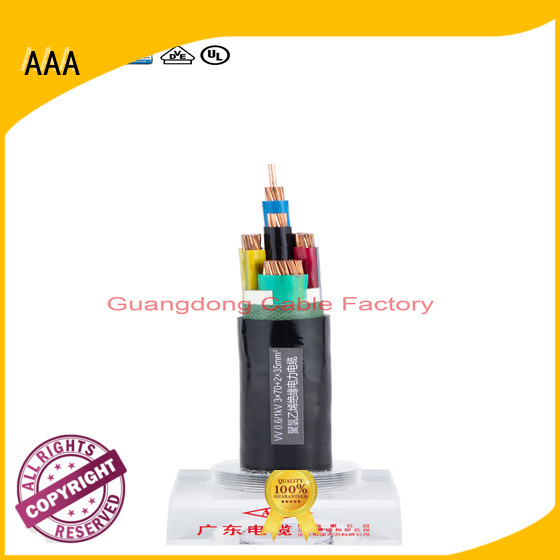 AAA high-quality pvc flexible wire outdoor factory