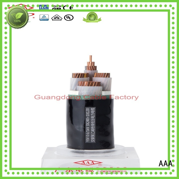 AAA electrical power cable professional easy installation