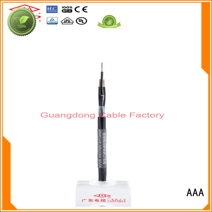 AAA factory supply pvc control cable custom