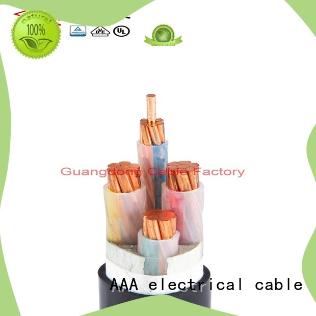 AAA fire resistant lszh power cable factory supply best price