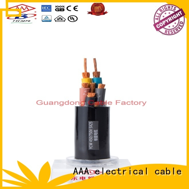 strong mechanical flexible rubber cable higher safe reliability construction